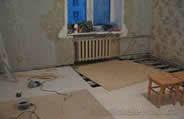 ремонт полов в квартире