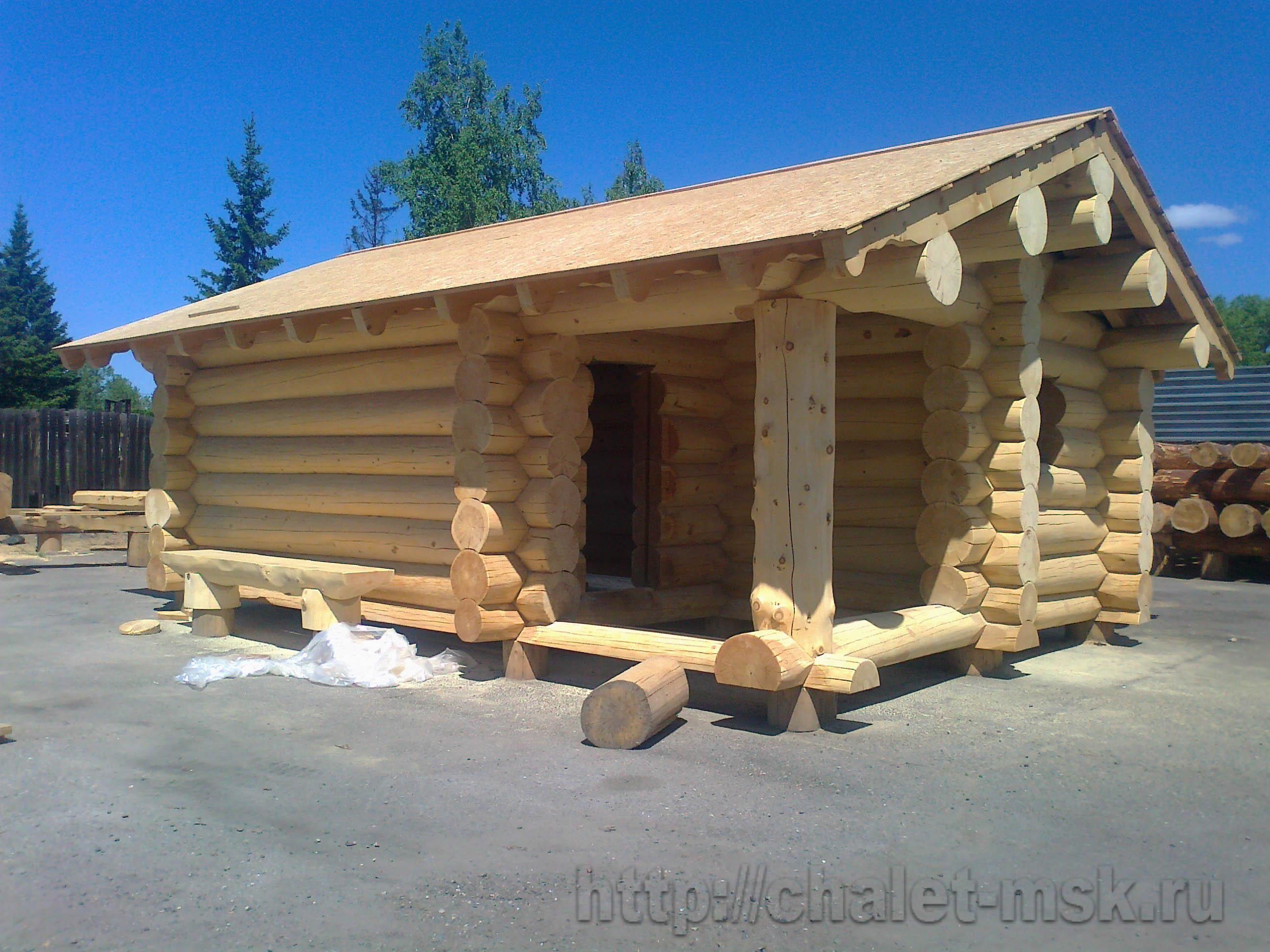 Строительство бань, бани из бревна, срубы бань