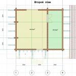 Строительство дома в стиле шале CHL-14-05 2 этаж