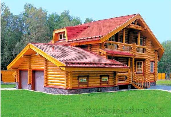 Дом из бревна BV_14_02