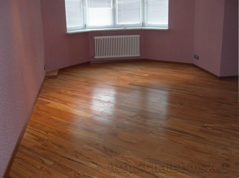 ремонт квартир в москве, настил полов