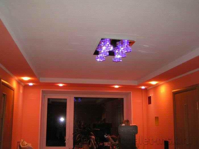 ремонт квартир в москве, освещение