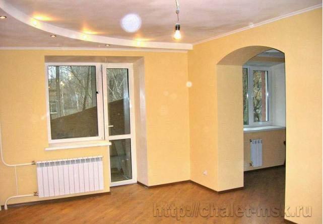 Ремонт под ключ: цена за квадратный метр в Москве и