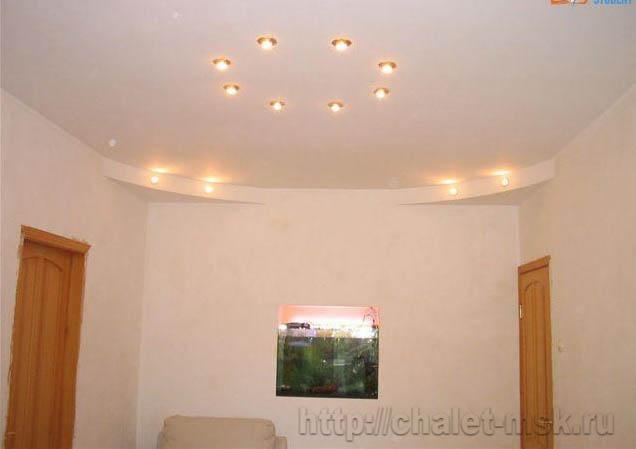 ремонт квартир в москве, подвесные потолки