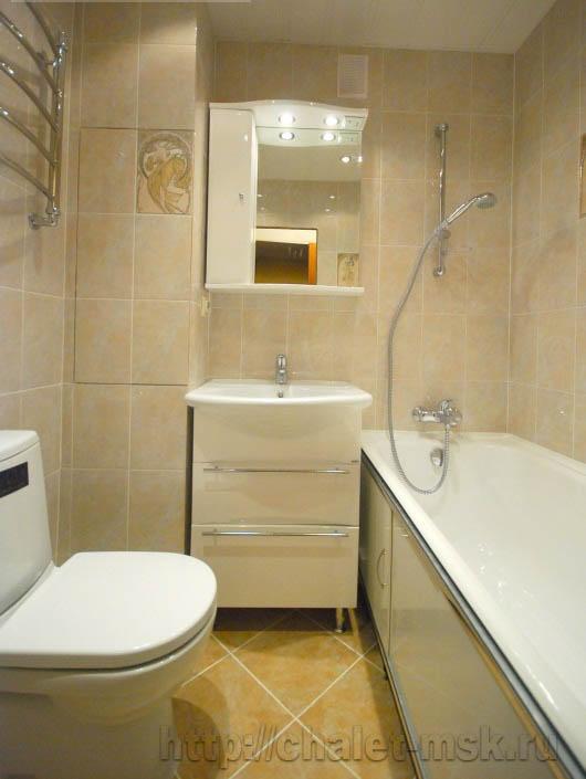 ремонт квартир в москве, ремонт ванной комнаты