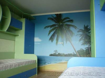 ремонт квартир в москве, ремонт детской комнаты