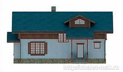 Дом в стиле шале chl-14-08 вид 2