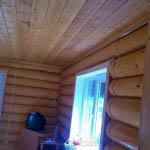 дом из бревна внутренняя отделка
