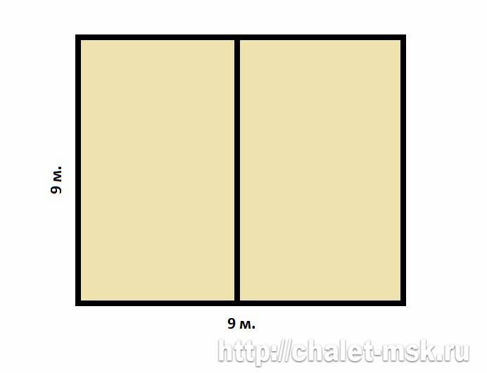 План сруба bv 14 16